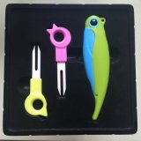 Folding de cerámica Fruit Knife y Forks Set para Fruit Tools