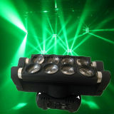 CREE RGBW Spider Beam Moving Head Stage Light de 8*10W LED