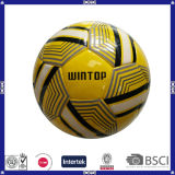 Esfera de futebol personalizada Aduit da coluna da fábrica 4 para a promoção