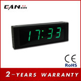 "[Ganxin] 1 "" mini reloj de la pared LED de la cuenta descendiente del indicador digital"