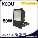 Indicatore luminoso di inondazione di alto potere LED di alta luminosità 10With20With30With50W
