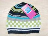 赤ん坊の方法多彩な編まれた帽子の帽子