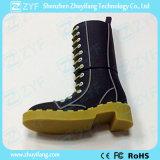 Изготовленный на заказ привод вспышки USB конструкции ботинок для промотирования (ZYF5035)