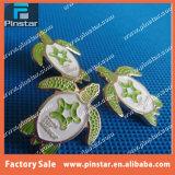Фабрика установленная в металла эмали черепахи 2003/Testudo Pin отворотом животного изготовленный на заказ