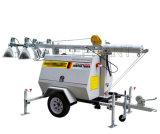 Beweglicher Beleuchtung-Kontrollturm des Kubota Generator-LED