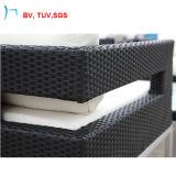 H熱い販売法の屋外の柳細工の家具の藤のソファーセット