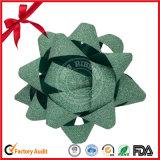 SGSの緑の感謝祭のための染まる星の弓リボン