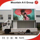 Outdoor AdvertisementのためのトラックMounted P10mm Full Color LED Display