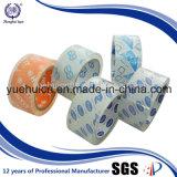 La oferta imprimió su insignia en la cinta clara estupenda de papel de la base BOPP
