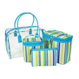 Kundenspezifisches Makeup Toiletry Promotional Fashion Cosmetic Bag Set für Ladys