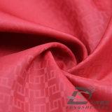 agua de 50d 280t y de la ropa de deportes tela tejida chaqueta al aire libre Viento-Resistente 100% del poliester del filamento del telar jacquar del telar jacquar abajo (53133)