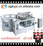 3 en 1 máquina de rellenar de la bebida carbónica