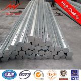 Bitumen runder galvanisierter elektrischer Pole