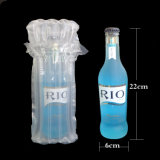 Bolsa protectora de amortiguación de aire a prueba de golpes Bolsa llena de botella de vino