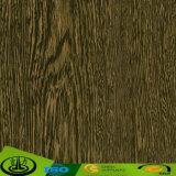 Papier décoratif avec les graines en bois pour le contre-plaqué