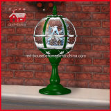 Color verde Windmill House Decorative Tabletop Lamp con il LED