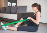 Faixa pesada do exercício do músculo do estiramento da resistência da ioga