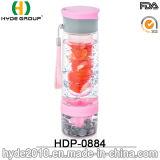 Бутылка воды Infuser плодоовощ новой конструкции пластичная, бутылка воды вливания плодоовощ Tritan (HDP-0884)