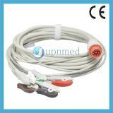 Cable de Bionet Bm3 ECG con los Leadwires, 8pins
