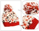 Цветастый шлем Knit руки причудливый пряжи