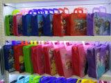 カスタム子供の子供の学校のゆとりPVCハンドル袋