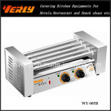 Form Durable Sausage Machine, 5 Rollers Electric Hot Dog Grill mit Glass Cover, CER Approved (WY-005)
