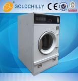 pièce de monnaie 10kg Vending le dessiccateur électrique de chauffage au gaz de vapeur de double pile