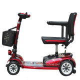 Самокат удобоподвижности 4 колес электрический для инвалид