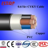 0,6 / 1kv 1-Cyky Cable, Ayky Cable IEC 60502 Standard