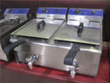 Friteuses profondes commerciales pour faire frire la nourriture (GRT-E34V)