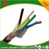 PVC изоляции PVC Kvvp 450/750V обшил кабель системы управления медного провода защищаемый