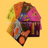 Карточки карточек карточной игры взрослый настольной игры торгуя играя