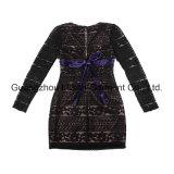 Vestido do bordado das senhoras do vestuário da forma das mulheres