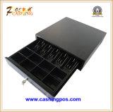 品質のPOSシステムLk410のための黒い金属の現金引出し