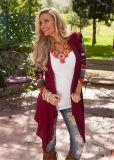 La alta calidad hizo punto de largo la rebeca impresa las mujeres del suéter