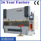 Wc67k-100t/4000 CNC SGS 증명서를 가진 유압 강철 플레이트 구부리는 기계