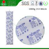 Déshydratant de conteneur de chlorure de calcium avec le taux d'absorption d'humidité de 300%