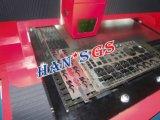 Máquina de estaca de fibra óptica inoxidável do laser do CNC da folha de metal para a indústria de anúncio