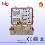 CATV Optical Node / Quatro Saídas AGC Optical Receiver com Reverse Path