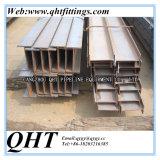 S235jr- I-Beam del acero de carbón del material de construcción del grado de S355jr