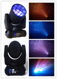 Iluminación principal móvil colorida increíble de la viga de 12PCS*10W LED