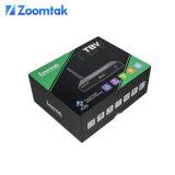 Zoomtak neues Modell Amlogic S905 Kodi 16.1 Strom Fernsehapparat-Kasten T8V