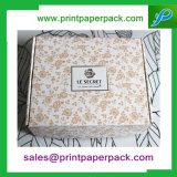 Caixa de empacotamento da roupa luxuosa feita sob encomenda/caixa feita sob encomenda da roupa