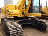 ¡KOMATSU usada PC220-6, excavador hidráulico de la correa eslabonada, excavador hidráulico usado de KOMATSU PC200 para la venta! 0086-13621636527