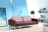 Домашняя кровать софы ткани отдыха мебели