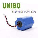 batería recargable 18650 del Li-Polímero LiFePO4 del litio 11.1V4400mAh