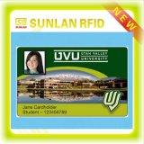 Tarjeta elegante de la identificación de foto del estudiante NFC con la raya magnética y la raya de la firma