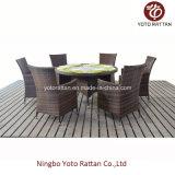 Mesa redonda ao ar livre com 6 cadeiras (1208)