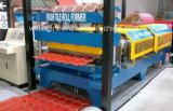 Rolo do metal que dá forma à máquina