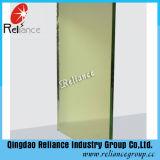 Vidrio Reflectivo de 5mm F Verde Reflectivo / Verde Oscuro para Edificio
